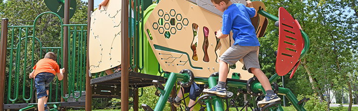 Playground equipment for schools Jambette