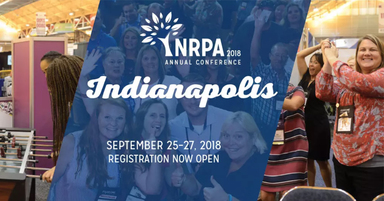 Jambette at the 2018 NRPA Conference
