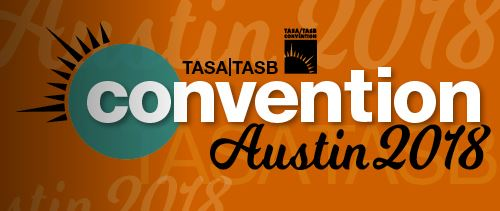 Jambette at the 2018 TASA/TASB Convention in Austin,Texas