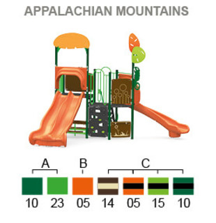 Appalachian mountain